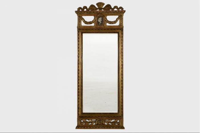 Gustavian mirror, 19th C.