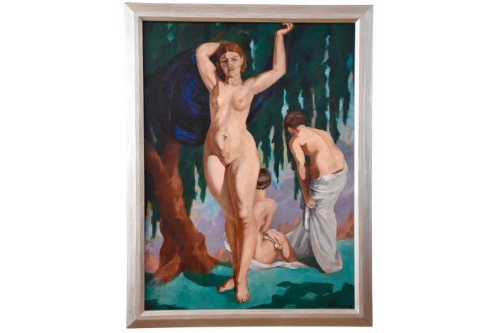 Art Deco painting