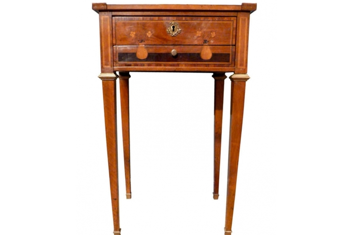 Louis XVI Inlaid Sewing Table