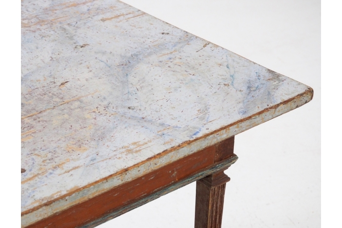 Center table, circa 1780.