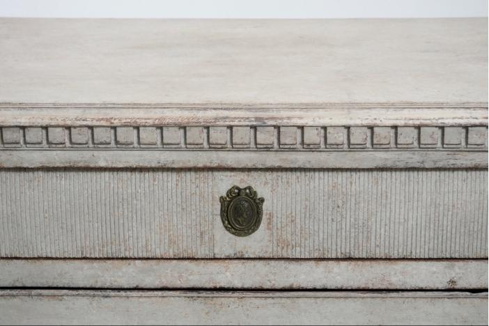 Gustavian chest, circa 1780.
