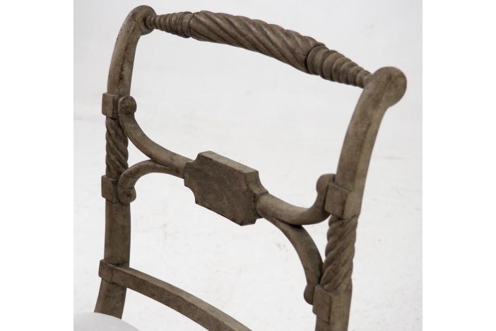 Gustavian bench, circa 1830.