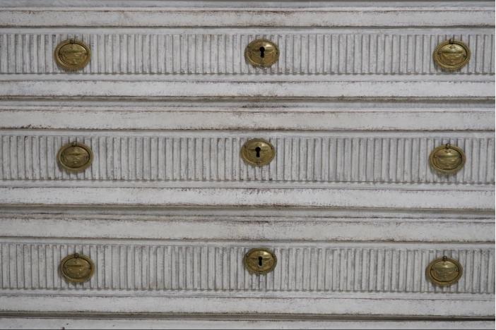 Gustavian bureau, circa 1790.