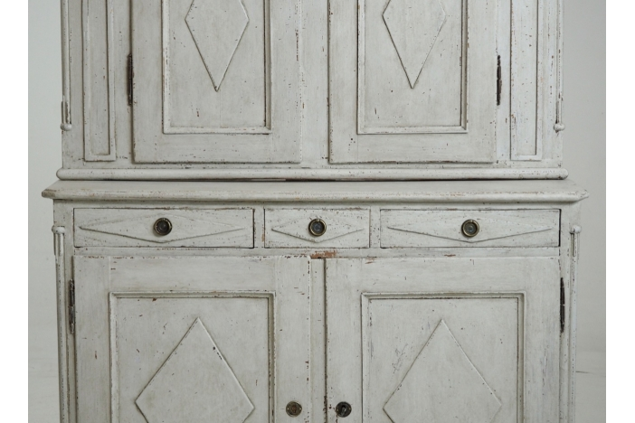 Gustavian cabinet, 1790.