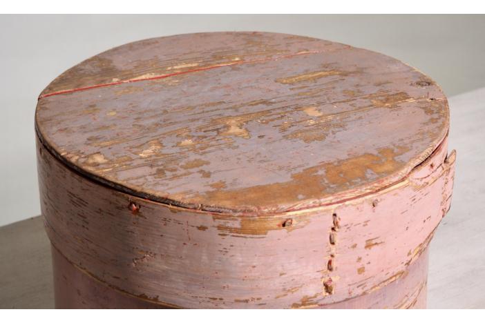 Swedish wooden box, 1800