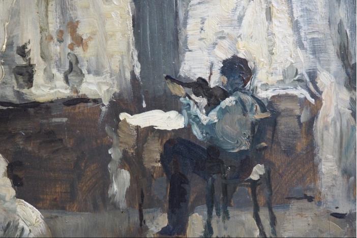 Impressionist painting, 1900.