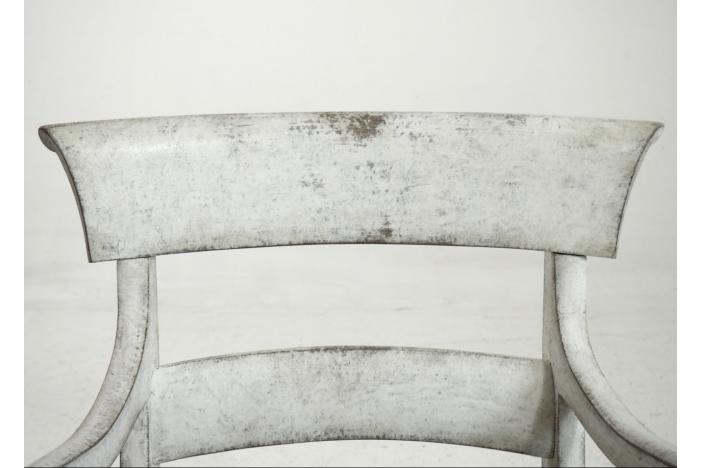 Scandinavian armchair, 1820.