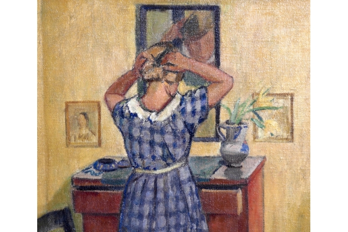 Painting, European artist 1900