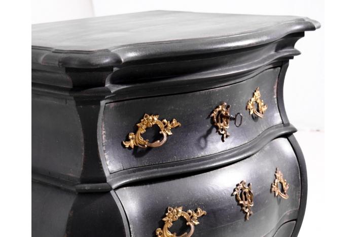 Rococo style chest, 19th C.