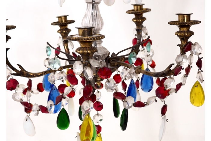 French chandelier, 19th C.