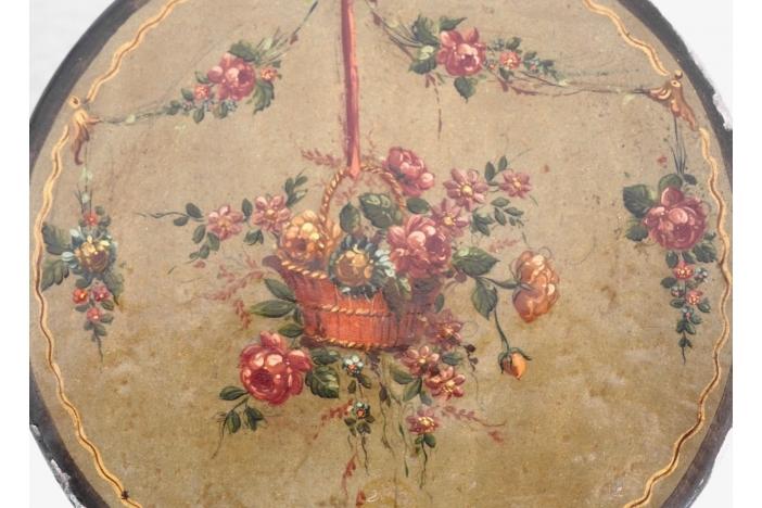 French lacquer box, circa 1780