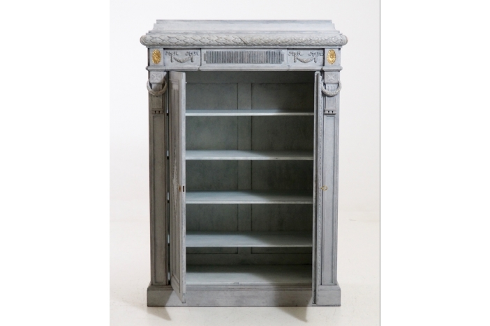 Very rare two-door cabinet.