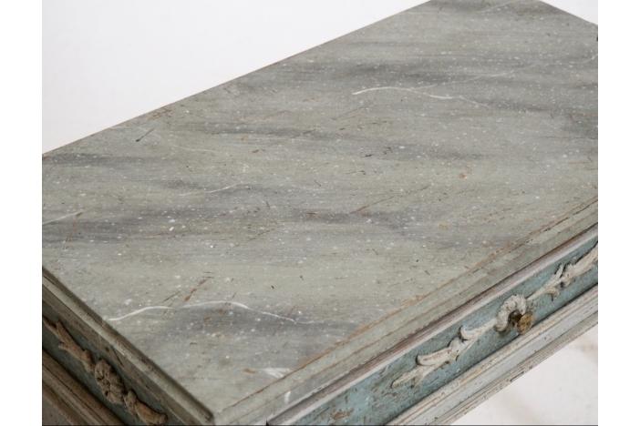 Gustavian sidetables, 1810.
