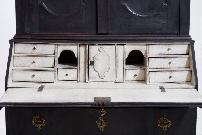 Two-part bureau, 19th C.