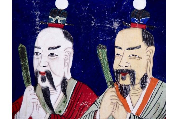 Chinese gouache, 19th C.