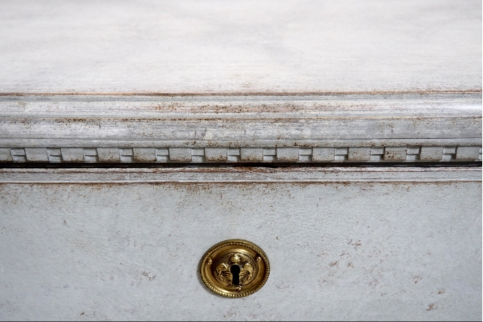 Gustavian chests, circa 1790.