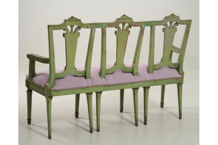 Gustavian sofa, circa 1790.