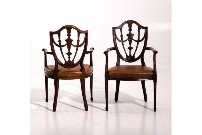 European armchairs, 1880