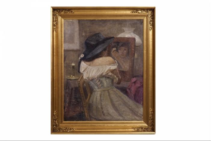Impressionist painting.