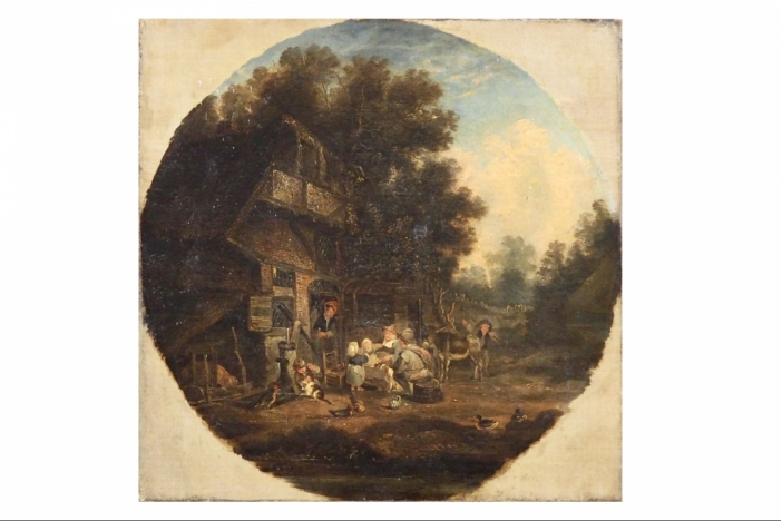 Dutch painting, 18th C.