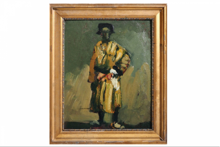Painting of man, 19th C.