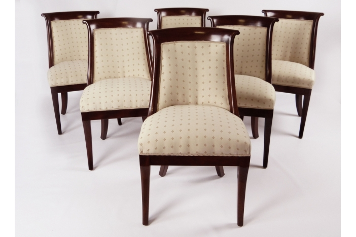 Biedermeier Dining Chair set