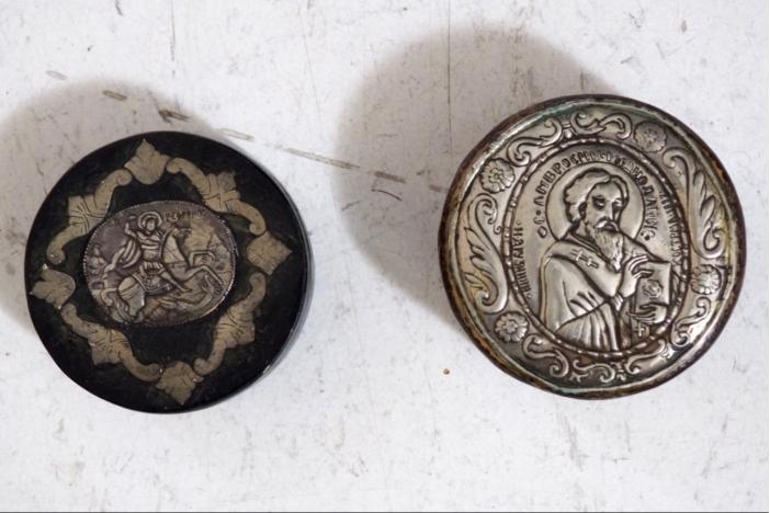 Russian silver, 19th C.