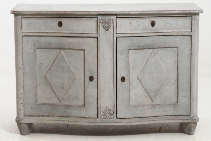 Fine sideboard, mid 19th C.