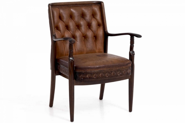 Swedish armchair, 19th C.