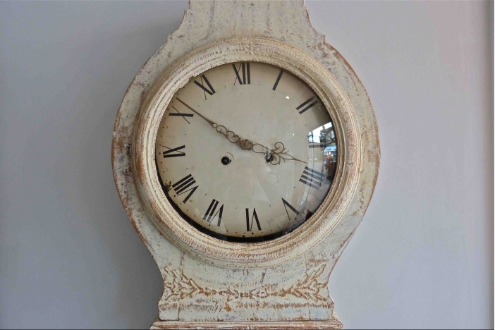 Swedish Gustavian Mora Clock