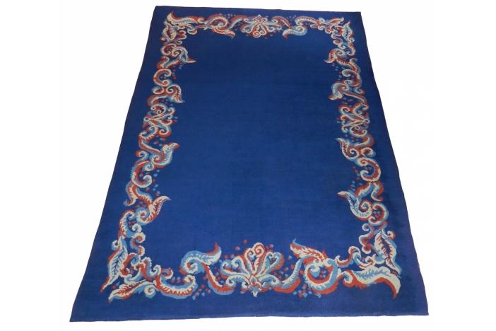 Large Art Deco handmade carpet