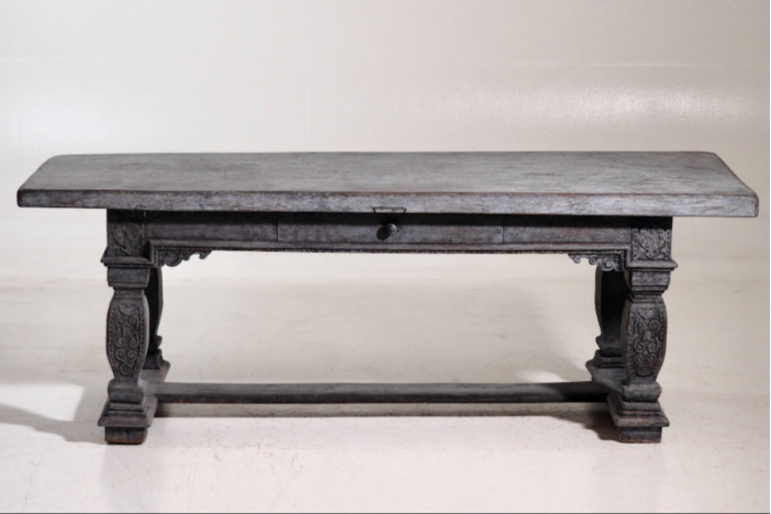 Gustavian console table 19th C