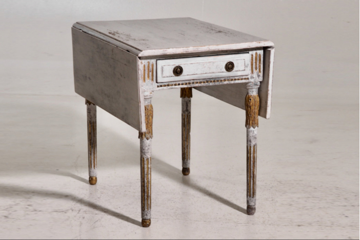 Center table, 19th C.