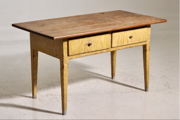 Extension table, ca. 1820