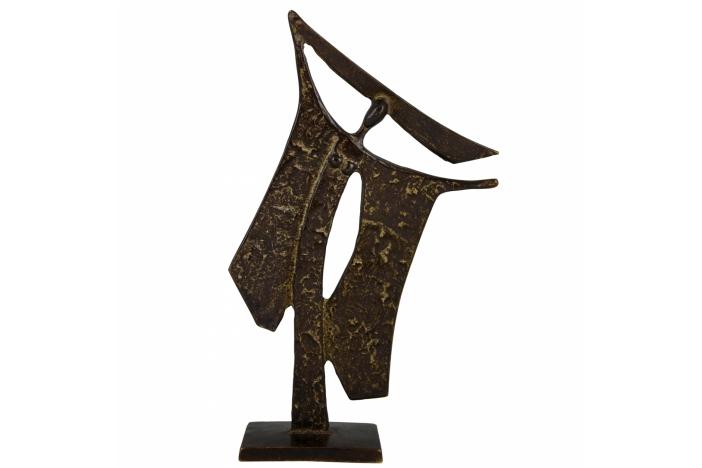 Bronze woman Ugo Cara