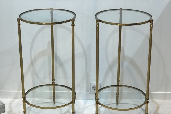French Pair of Side Tables