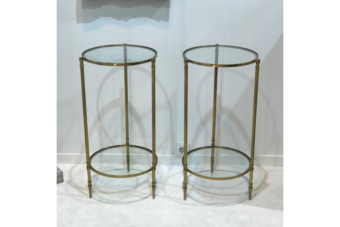 Pair of French Bed Side Tables