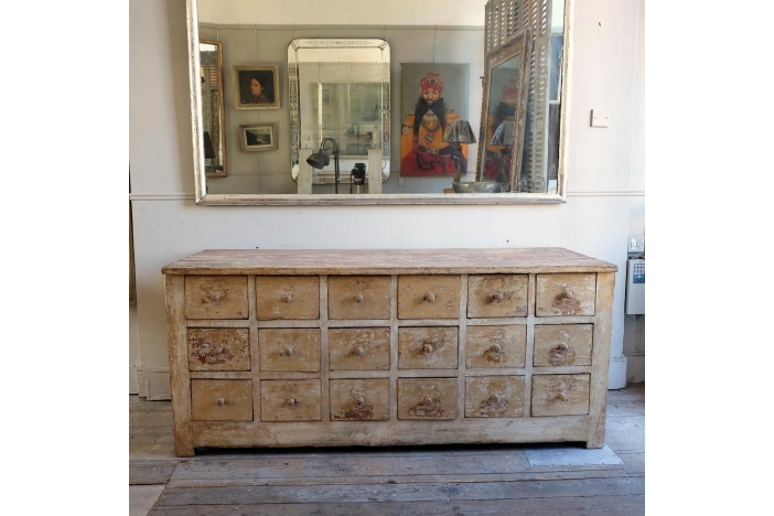 Antique Drawer Unit