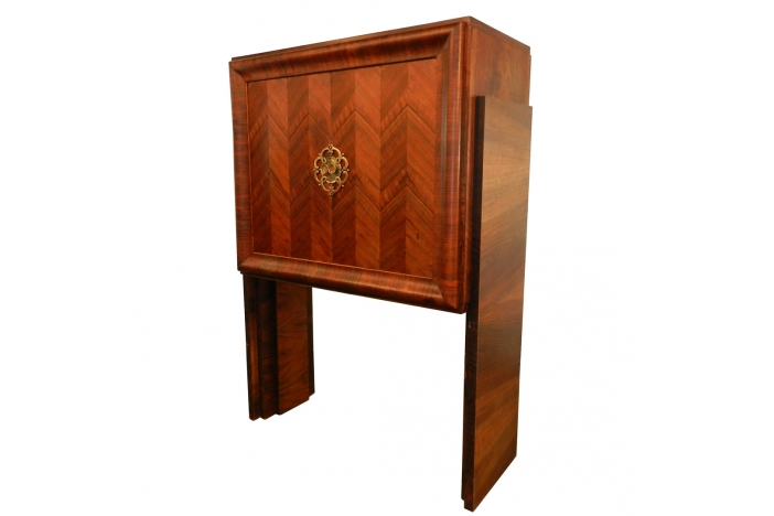 Art Deco Palissander Bar