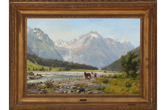 """""""View from Val Bregaglia"""""""