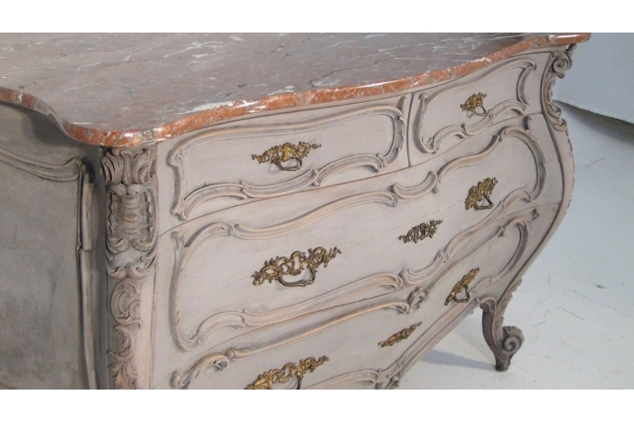 French rococo style commode