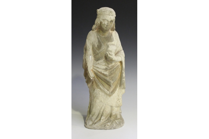 Early 16th c. stone sculpture