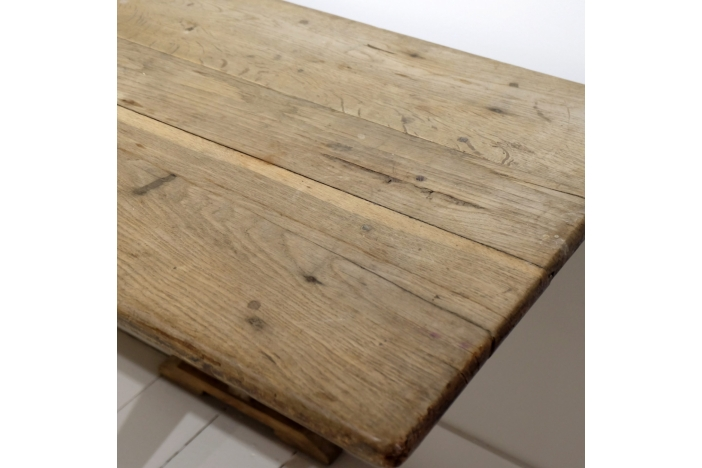 Long and Narrow Elm Table