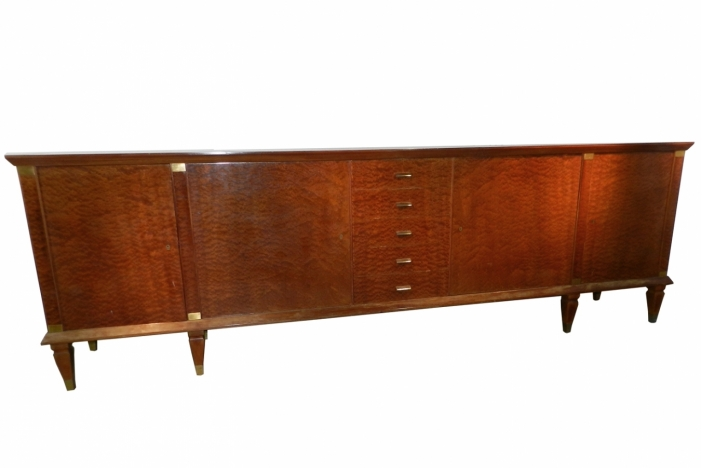 Very long Art Deco sideboard