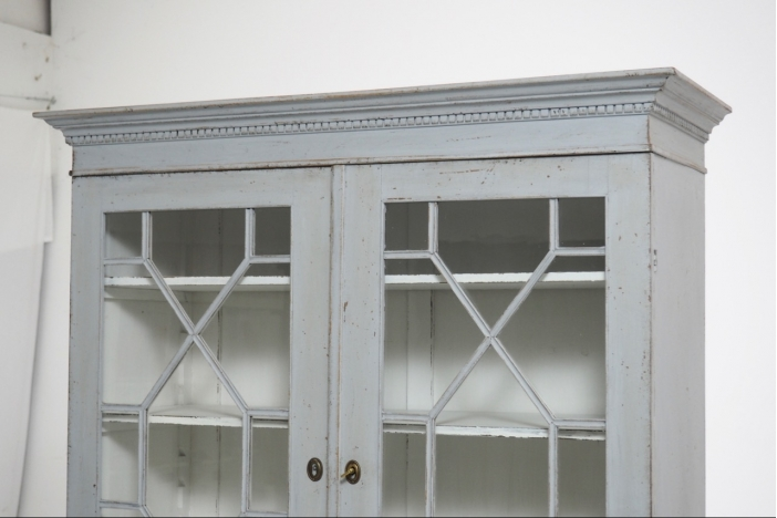 Two-part cabinet, 19th C.