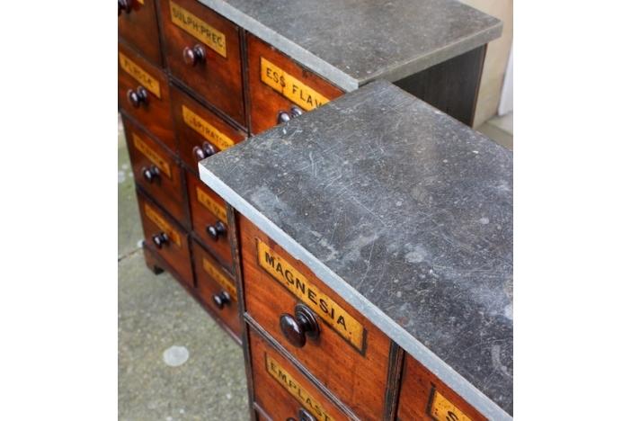 English Pharmacy Cabinets