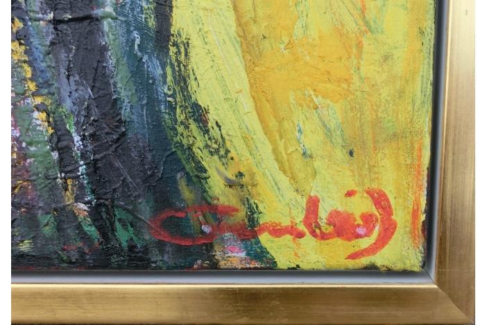 Composition oil on canvas.