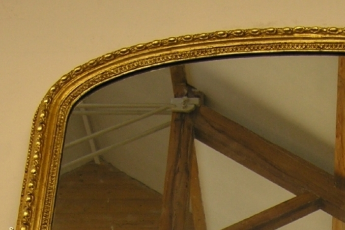 VICTORIAN GILT WALL MIRROR