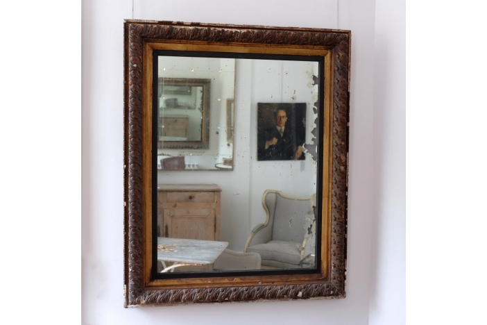 Impressive Antique Mirror