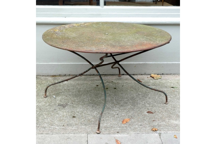 Large Folding Garden Table